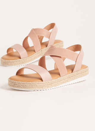 Great Outdoors Banded Braided Sandals