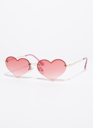 Only Have Heart Eyes For You Sunglasses