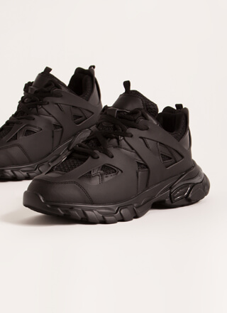 The Layers Club Sporty Tonal Sneakers