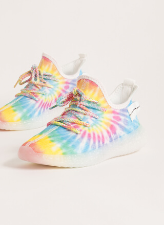 Play With Color Pull-On Tie-Dye Sneakers