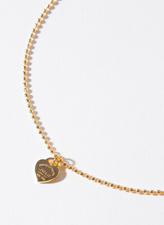 Comes From The Heart Beaded Anklet