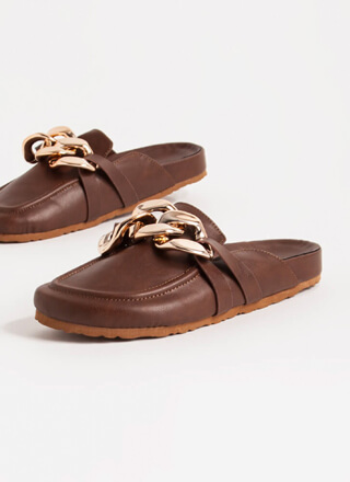 Chain-ge Of Plans Moccasin Mule Flats