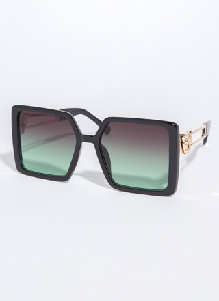 Leopards And Cheetahs Square Sunglasses