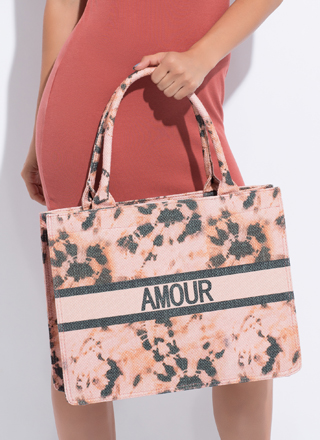 Amour Moderne Large Tie-Dye Tote
