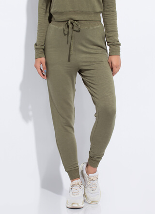 Work From Home Drawstring Joggers