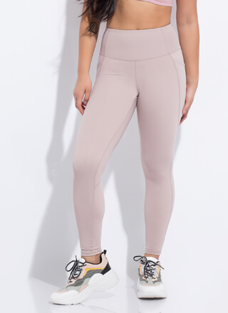 Workout Routine Pocketed Leggings