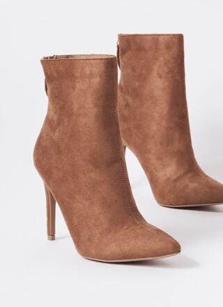 Fall Favorites Pointy Stiletto Booties