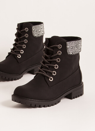 Bling Out The Best Rhinestone Work Boots