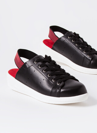 Fly Out The Door Slingback Sneakers
