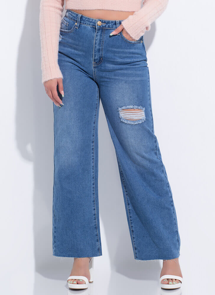 New Fave High-Waisted Wide-Leg Jeans