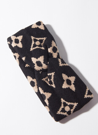 Luxe Like A Cold One Patterned Headband