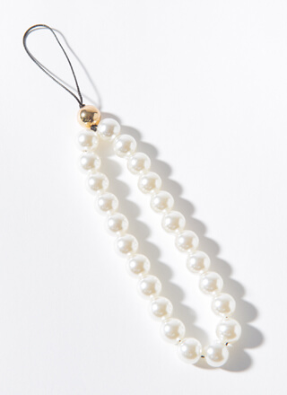 Phone Upgrade Faux Pearl Strap