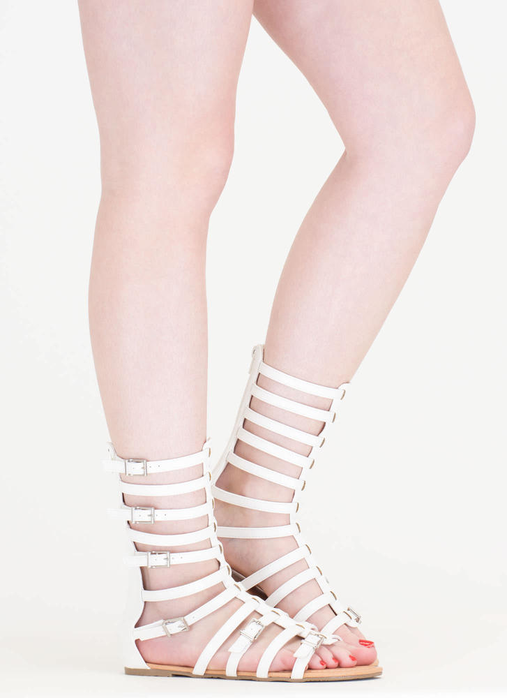 Arena Allure Gladiator Sandals WHITE