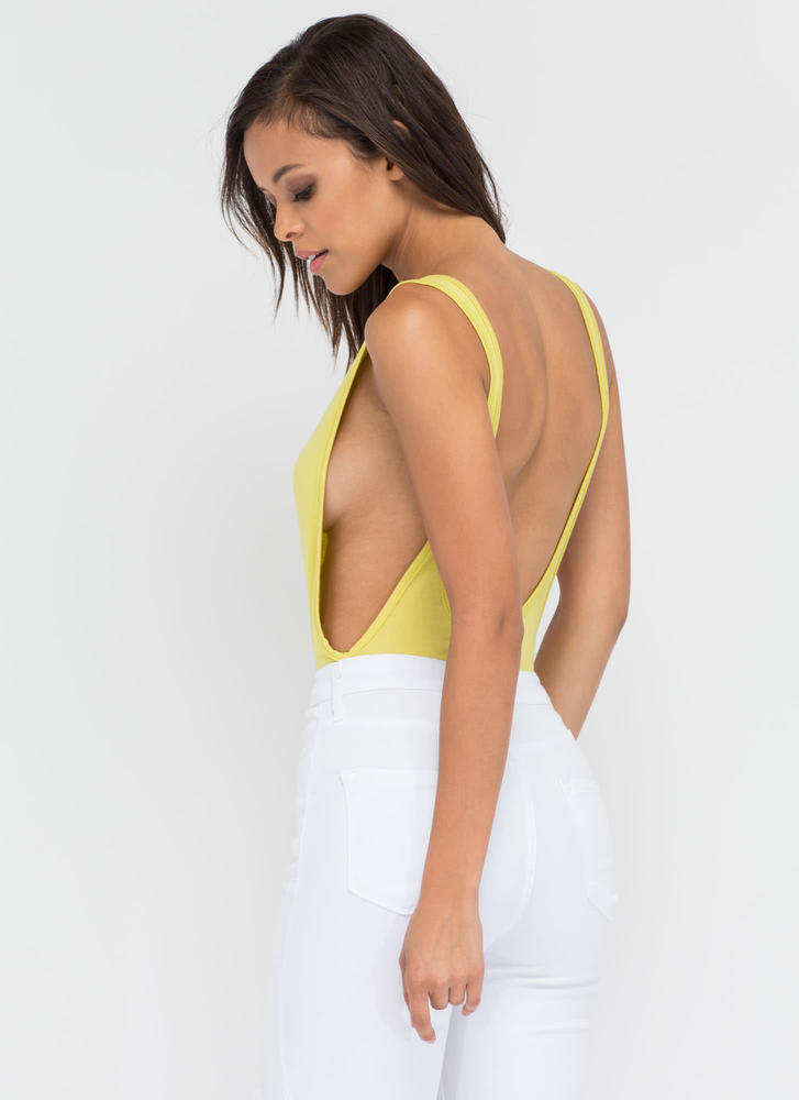 Wanted Muscle Bodysuit CITRON