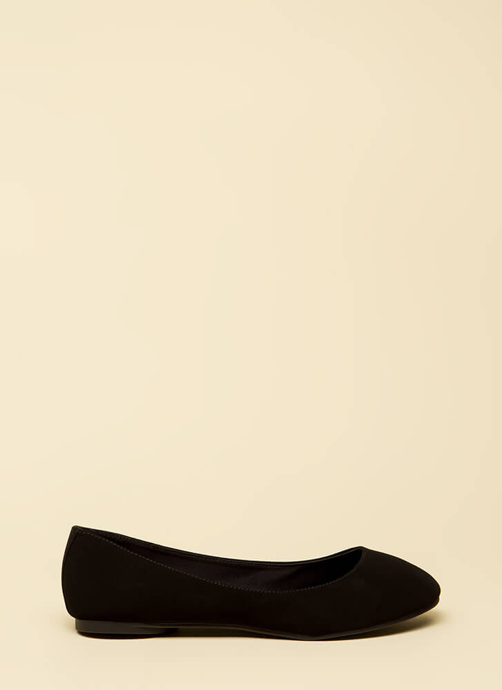 Keep It Simple Ballet Flats BLACK