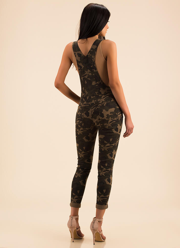 Military Mood Camo Overalls CAMOUFLAGE