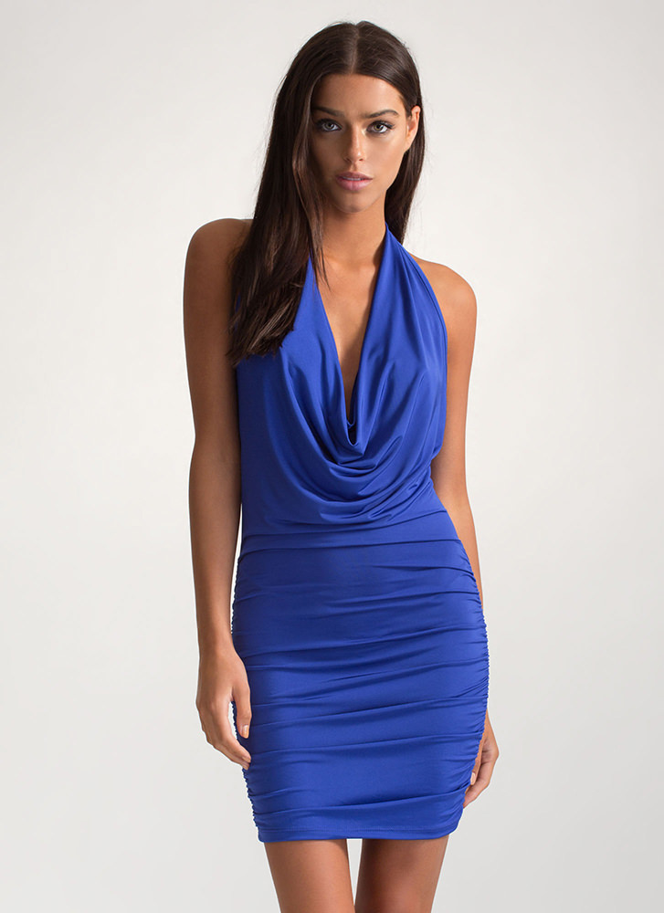 Chain Of My Existence Minidress ROYAL
