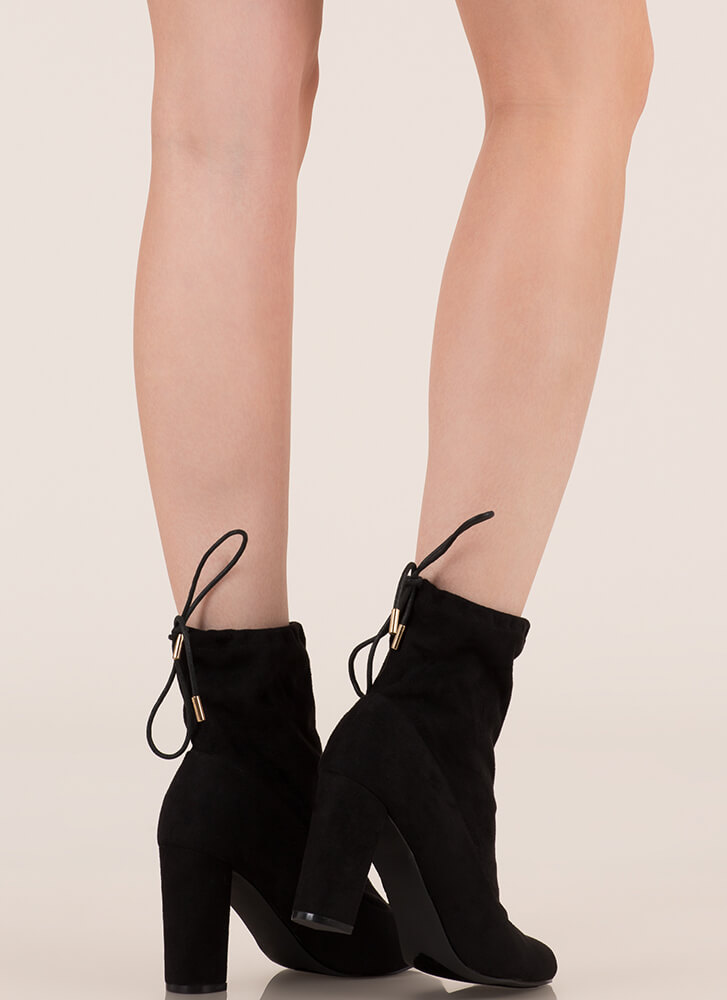 Fashion Activist Slouchy Booties BLACK