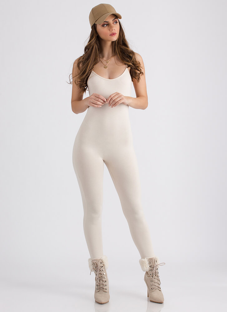 One Woman Show Full Bodysuit CREAM