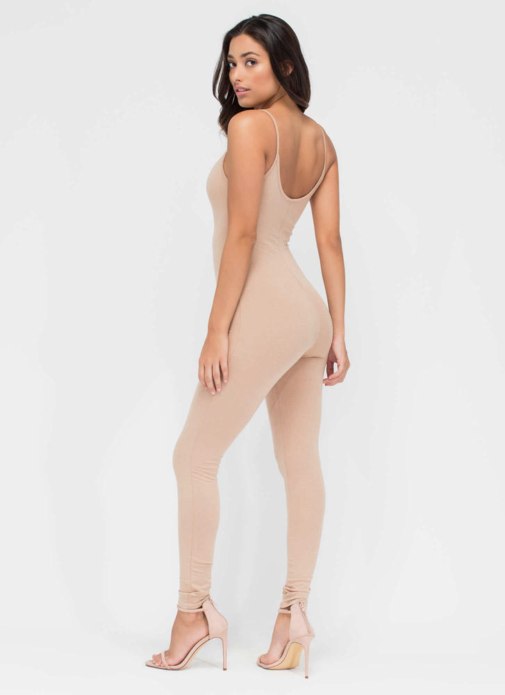 One Woman Show Full Bodysuit NUDE (You Saved $12)