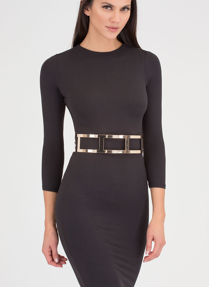 Call Action Cut-Out Filmstrip Belt GOLD (You Saved $10)