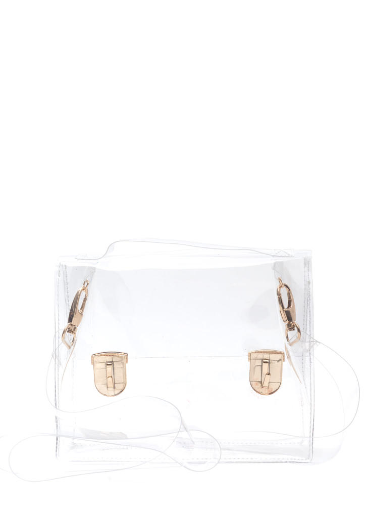 So Transparent Clear PVC Bag CLEAR