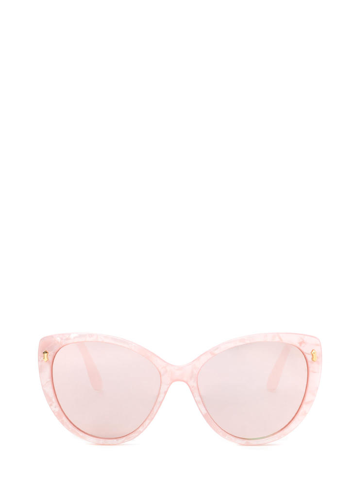 Sunny Outlook Cat-Eye Sunglasses PINK