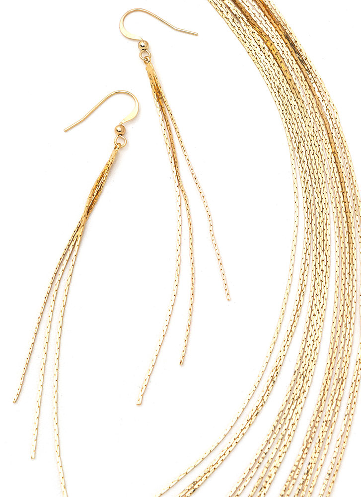Chic Highlight Layered Necklace Set GOLD (Final Sale)