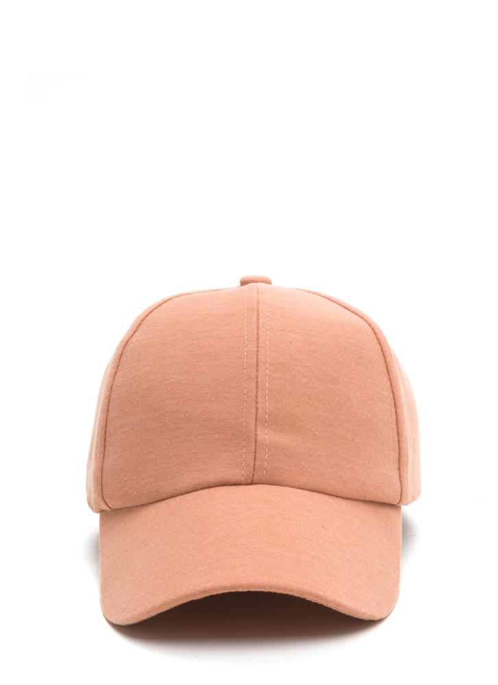 Building From Basics Baseball Hat BLUSH