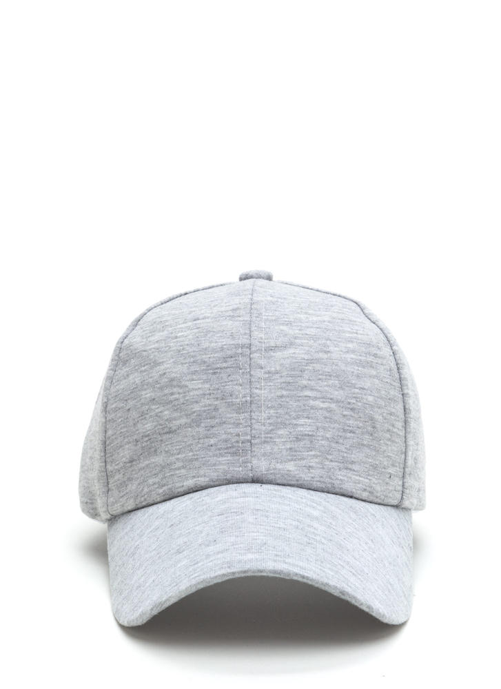 Building From Basics Baseball Hat HGREY