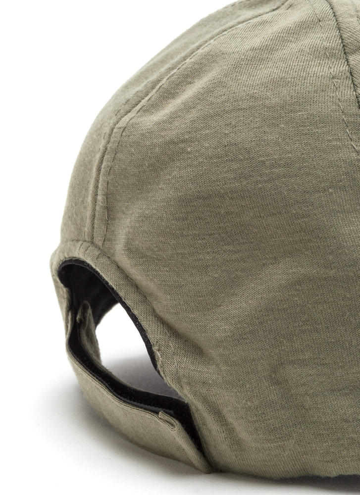 Building From Basics Baseball Hat OLIVE