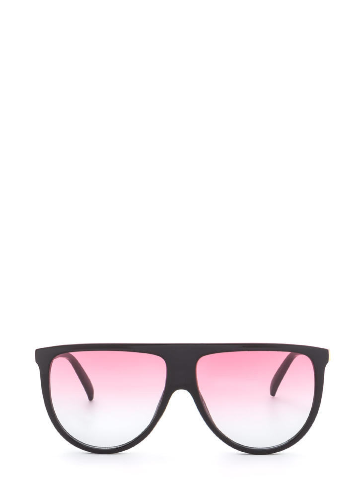 Sunny Statement Gradient Tinted Sunglasses BLACKPINK