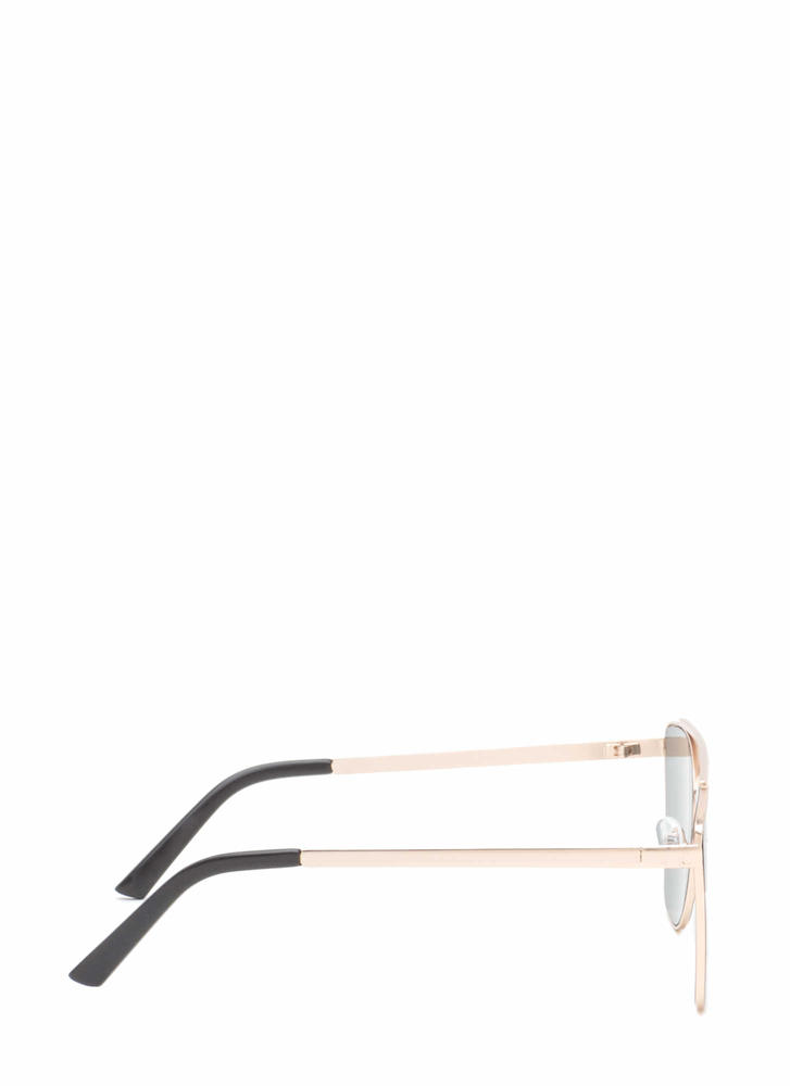 Chic 'N Sleek Brow Bar Sunglasses BLACKGOLD (Final Sale)