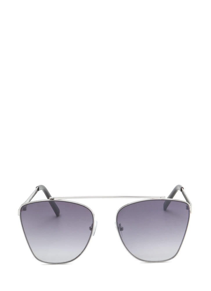 Chic 'N Sleek Brow Bar Sunglasses BLACKSILVER (Final Sale)