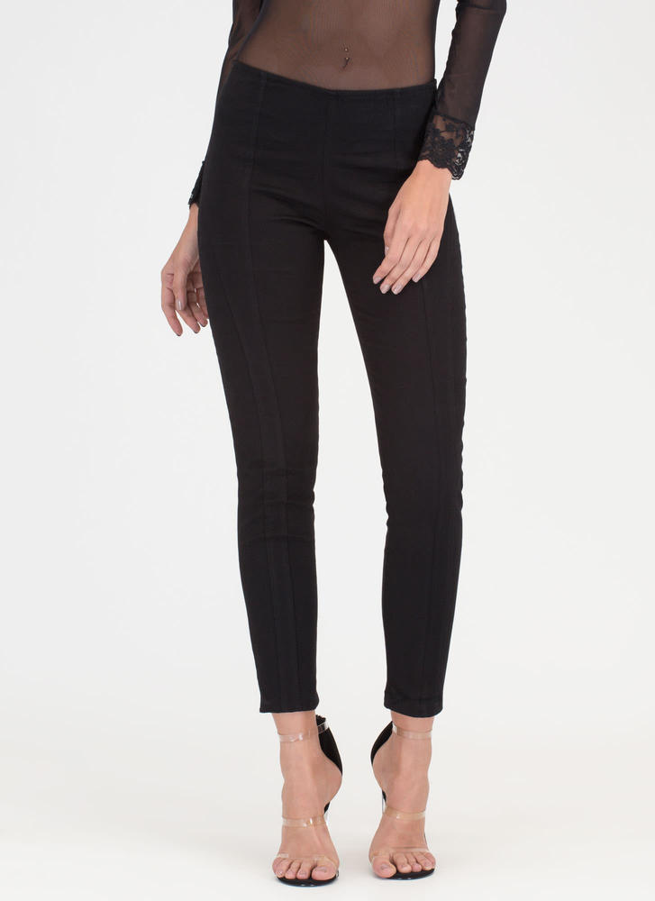 Go Everywhere Skinny Pants BLACK