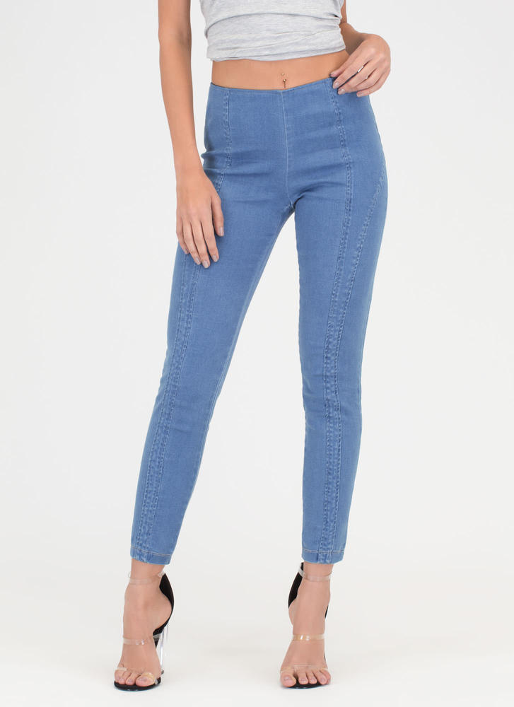 Go Everywhere Skinny Pants LTBLUE