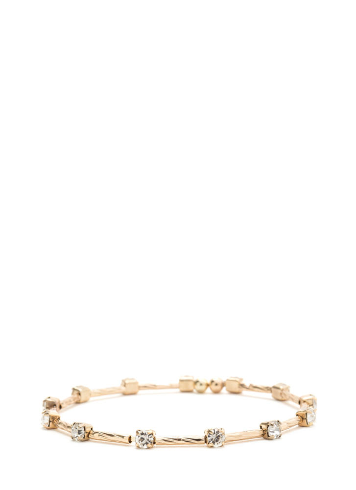 Light It Up Sparkly Bracelet GOLD