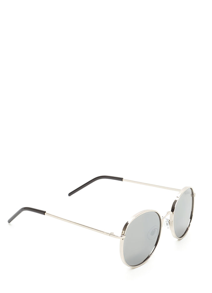 Round And Round We Go Sunglasses SILVER