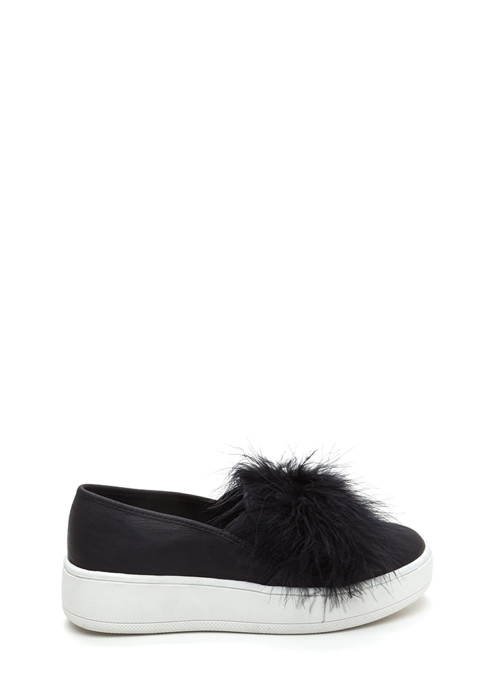 Feather Forecast Platform Sneakers BLACK