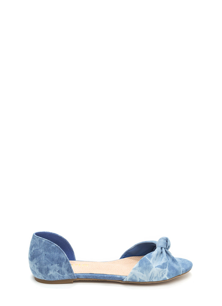 Knotty By Nature Denim Flats DENIM