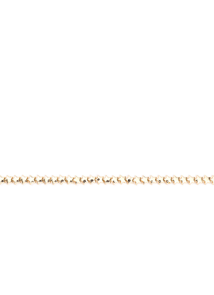 Map To The Stars Charm Choker GOLD