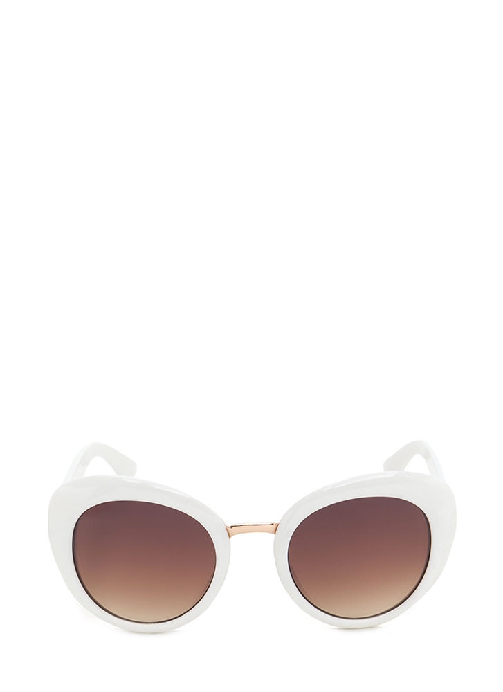 My Own Little Bubble Sunglasses WHITE