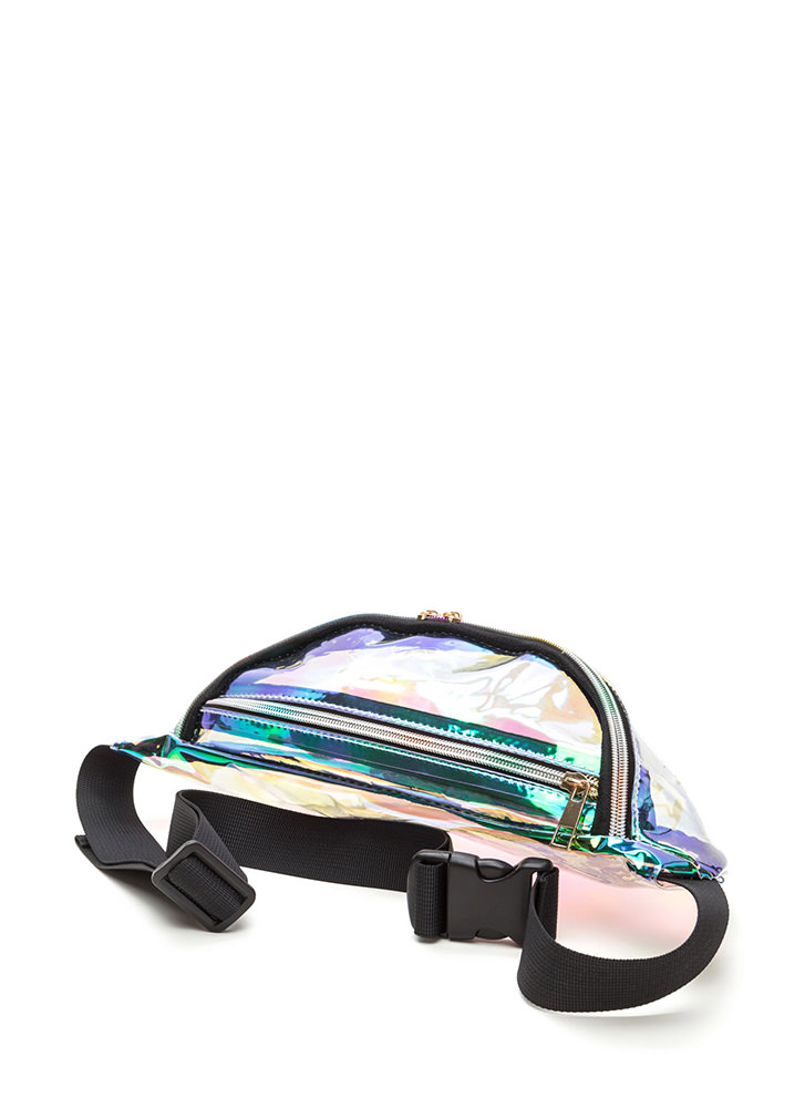 Shiny 'N New Clear Fanny Pack CLEAR