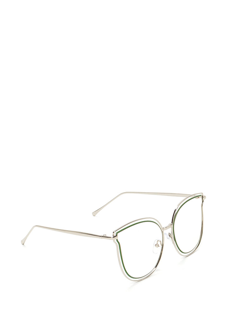 Fashionista Approved Tinted Sunglasses CLEAR