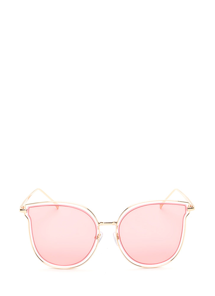 Fashionista Approved Tinted Sunglasses PINK