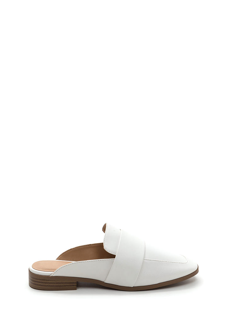 Be There And Be Square Mule Flats WHITE