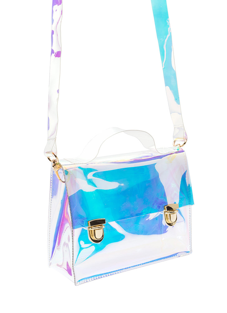 Clear Meaning Holographic Bag MULTI