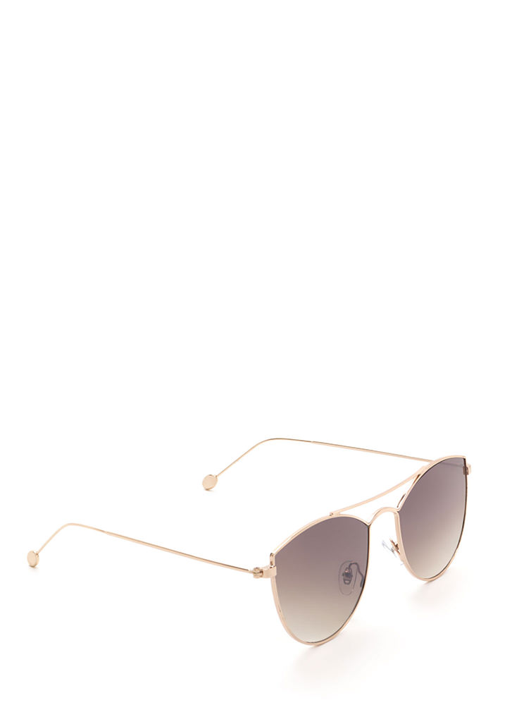 Fashion Fave Tinted Brow Bar Sunglasses BROWN
