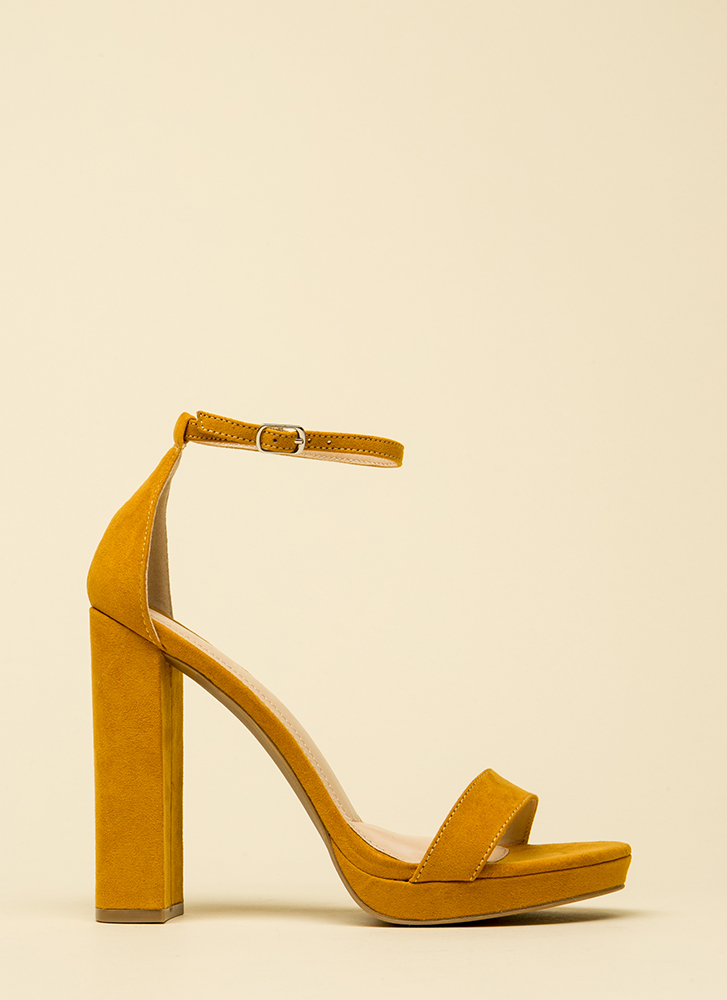 That's All It Takes Chunky Platforms MUSTARD