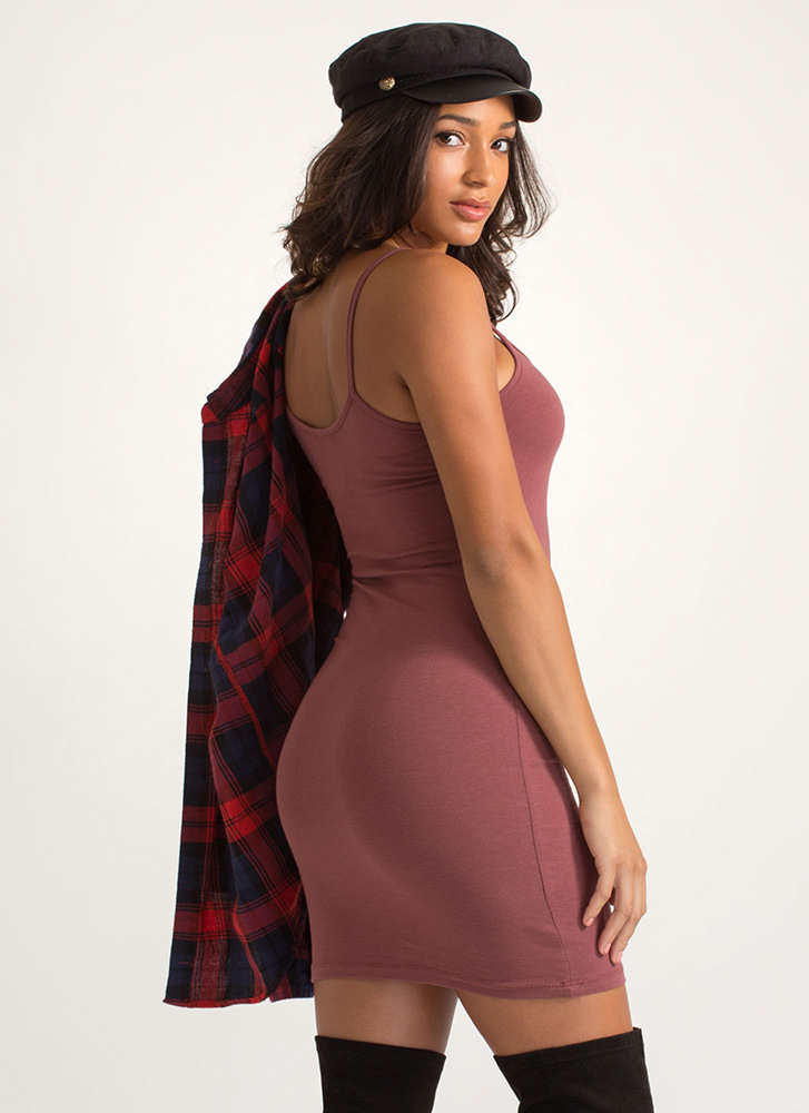 Every Day Of The Week Cami Tank Dress DKROSE